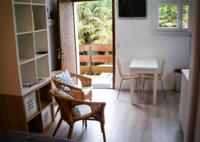 studio calme et lumineux à Eugénie-les-Bains